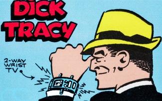 Dick Tracy 2-way wristwatch